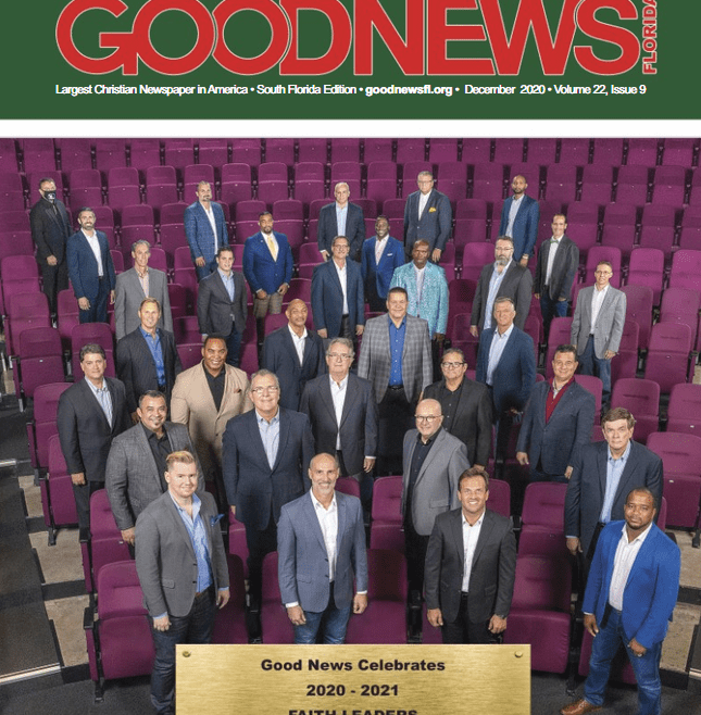 We're on the cover of GoodNews Magazine!